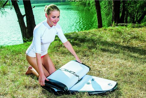 Bestway Hydro-Force Inflatable Stand Up Paddle Board Review