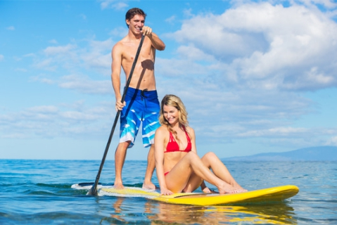health benefits of stand up paddle boarding
