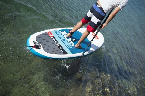 Red Paddle Co Ten Six RIDE Stand Up Paddle Board Review