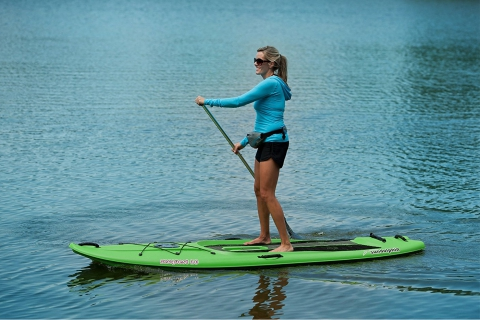 Sun Dolphin Seaquest 10 Stand Up Paddle Board Review
