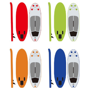 ibigbean inflatable sup for kids