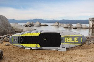 Isle Airtech Inflatable 11 foot explorer on sand