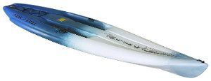 Ocean Kayak Nalu Hybrid 11ft blue and white color