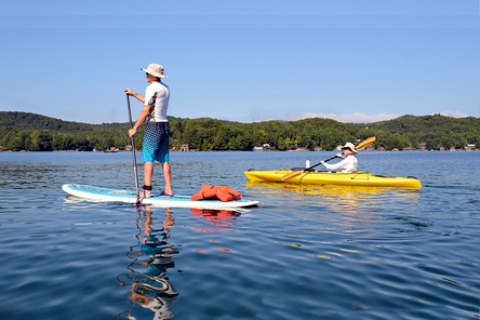 Paddle Board VS Kayak: Which is Best for Fishing & Touring? Pros, Cons & Speed Test