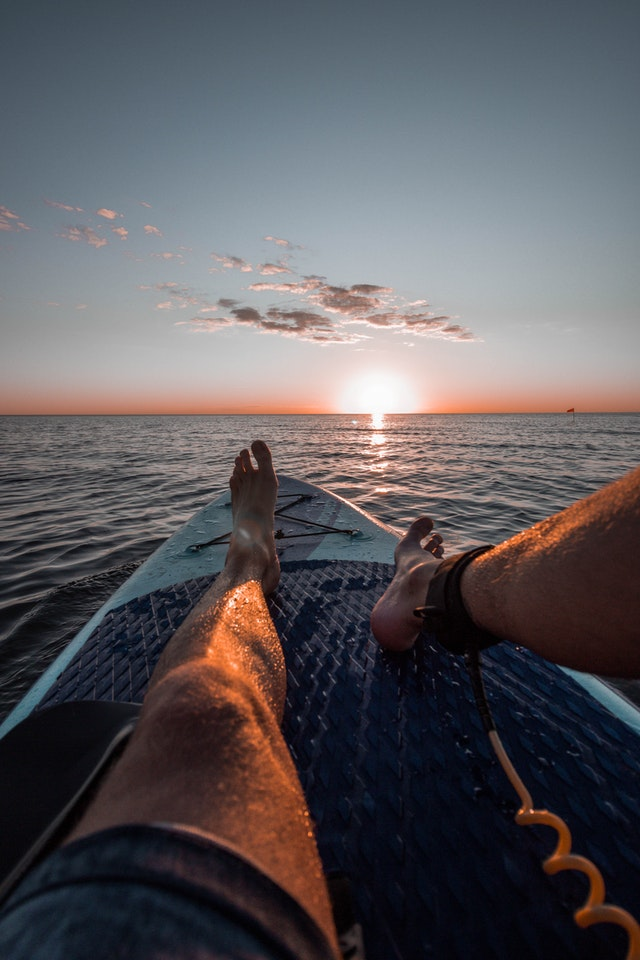 Relax on a SUP In The Great Lakes