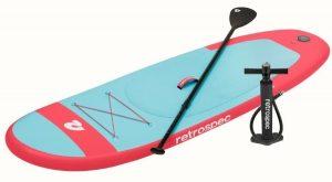 Retrospec - Weekender Nano Kids SUP paddle and pump