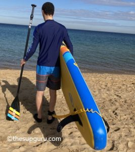 paddle and surf with GLIDE SUP