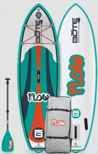 BOTE Flow Aero inflatable paddle board for kids